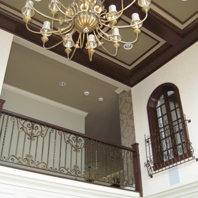 Coffered beam and ceilings
